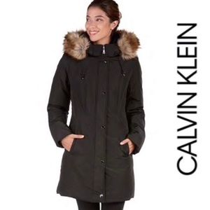 Calvin Klein Performance black coat